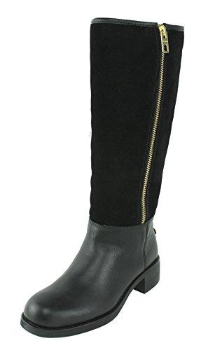 Coach Bailey Safari Women US 7 Black Knee - Women Coach Boots