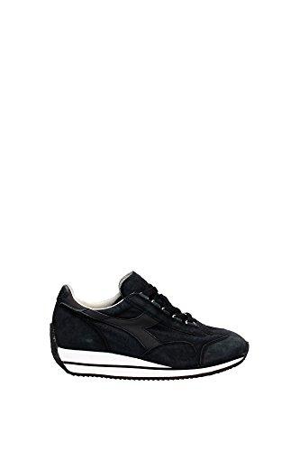 20115603001C0200 Diadora Heritage Sneakers Femme Chamois Noir Noir