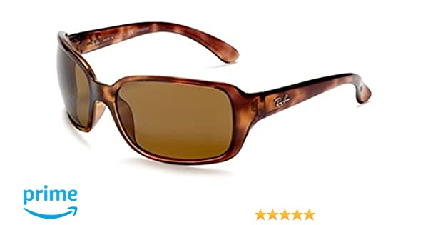 298830483a1 Amazon.com  Ray-Ban RB4068 Polarized Sunglasses Havana w Brown (642 57) RB  4068 642 57 60mm Authentic  Shoes