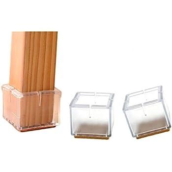 Kinteshun Furniture Foot Cover Silicon Rubber Felt Pad