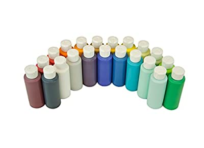Art2Life 21-Color Fluid Acrylic Paint Set