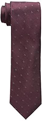 Calvin Klein Men's Glitter Square Tie