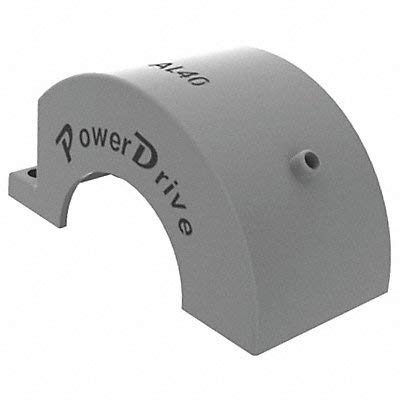 Power Drive Chain Coupling Cover O D 4 in by Power Drive