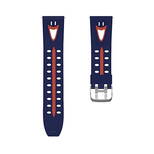 YJYDADA National Smiling face Wristband Watch Band Wrist Strap for Samsung Gear S3 (C)