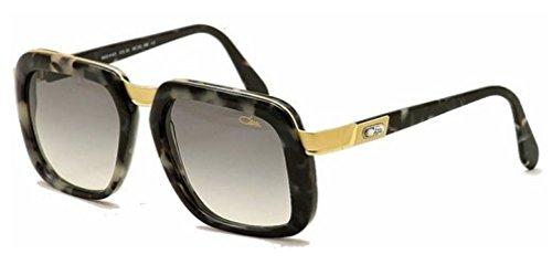 Cazal 616 90SG Marble Grey Square Sunglasses 56mm W/Extra - 616 Sunglasses Cazal