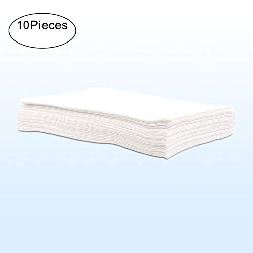 WANPOOL Disposable Waterproof Oil-Resistant Massage Table Cover Sheet – 10 Pieces