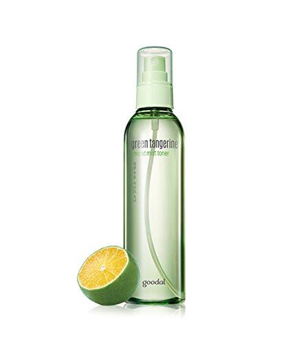 Goodal Green Tangerine Moist Mist Toner 6.8 Ounce Green