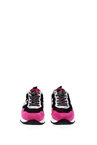 HXW00N0U460CJY02F3 Hogan Sneakers Mujer Tejido Fucsia Fucsia