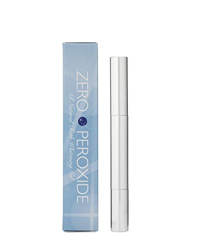 Teeth Whitening Pen by Zero Peroxide, Natural Teeth Whitening Gel, Instant Professional Results, Made in USA, No…