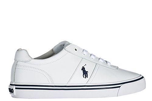 Hanford Ralph Lauren Uomo Sneakers Polo White rtrWwHq18