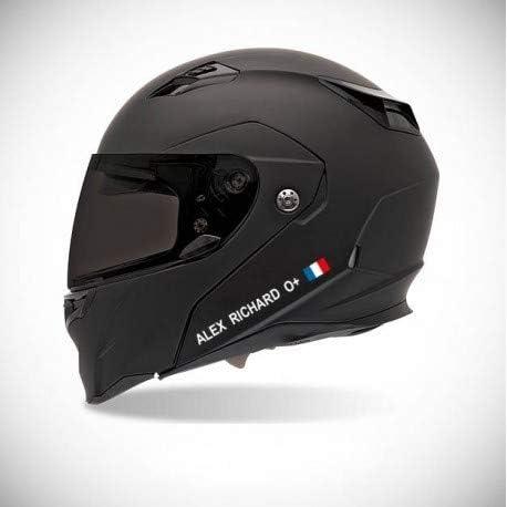 Amazon.es: Pegatina para casco de moto, pegatina de la bandera española