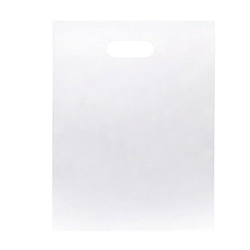 ClearBags 12 X 15 LDPE Clear Handle Bag | Merchandise Bag With Die Cut Handles | Strong and Tear Resistant | Perfect for Trade Shows, Retail, and More | NFL - In Shopping Copenhagen Best