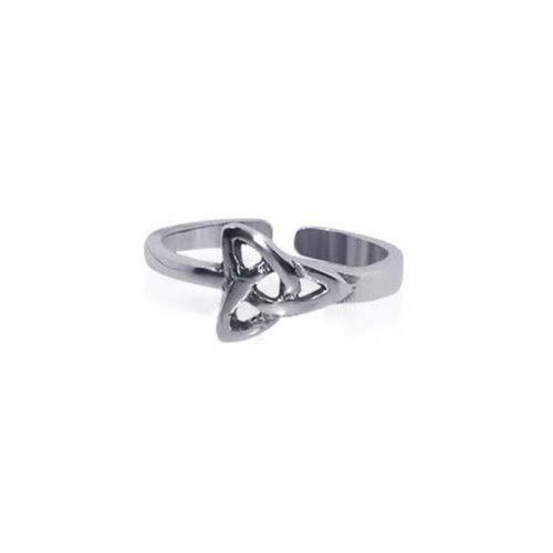 Gem Avenue 925 Sterling Silver Celtic Knot Toe Ring for (Gem Avenue Toe Ring)