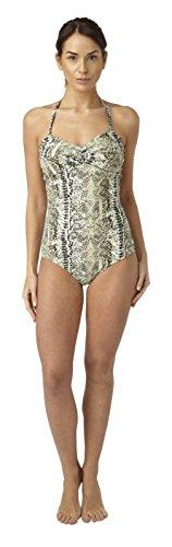 Ladies Snake Print Design Swimming Costume 22B/C