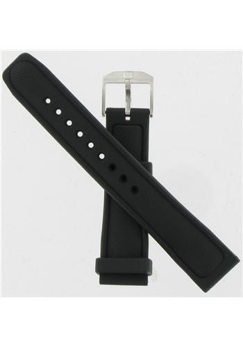 Luminox 22mm Black Polyurethane Watch Band