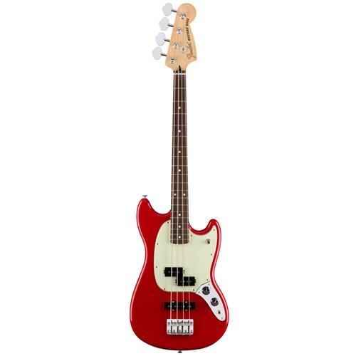 Vintage Mustang Fender (Fender Mustang PJ Bass - Torino Red)
