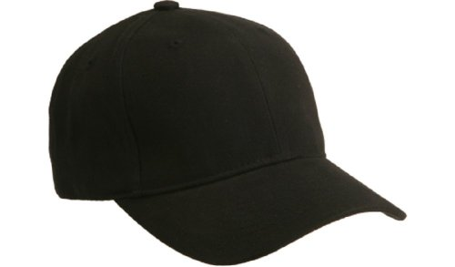 Mid Profile 6 Panel (Brushed Cotton Twill Mid Profile Velcro Cap - Many Colors Available)