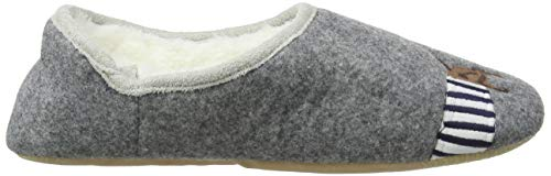 Gris grey Joules Greydog Femme Pantoufles Dog Slippet PCxqwt4