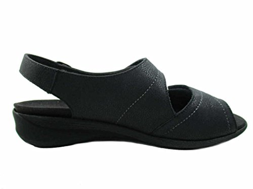 Solidus Women's 7000000130 Fashion Sandals Black c5WcpJep