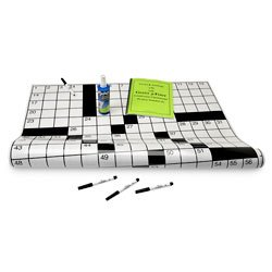 Nasco Jumbo Laminated Crossword Puzzle Grid #2 - School and Senior Activity Products - SN01150 by Nasco