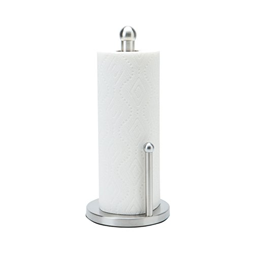 Paper Towel Holder in Stainless Steel by Kennedy Home Collections Stainless Steel Paper Towel