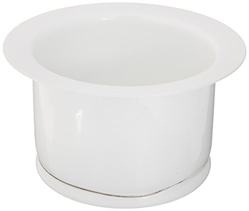 Rohl ISE10082WH 2-1/2-Inch Extended Throat for Fireclay Sinks and Shaws Sinks in (White Disposer Flange)