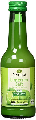 Alnatura Bio Limettensaft, 6er Pack (6 x 200 ml)