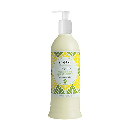 OPI Avojuice Hand Lotion, Sweet Lemon Sage, 20 Fl Oz