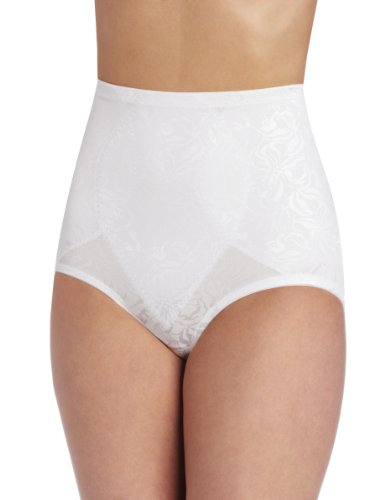 Maidenform Flexees Women's Shapewear Brief Firm Control, White, X Large
