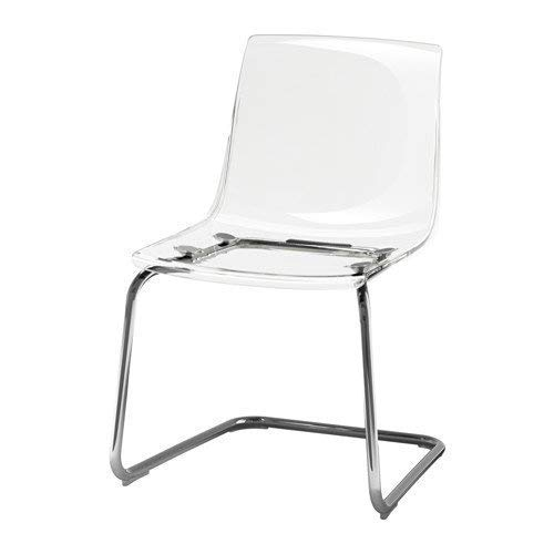 Gentil Amazon.com: Ikeaa IKEA Tobias Chair, Clear, Chrome Plated 803.496.71,  Silver: Kitchen U0026 Dining
