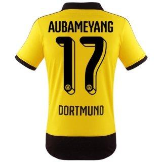BVB Aubameyang Jersey Home 2016, S: Amazon.es: Deportes y aire libre