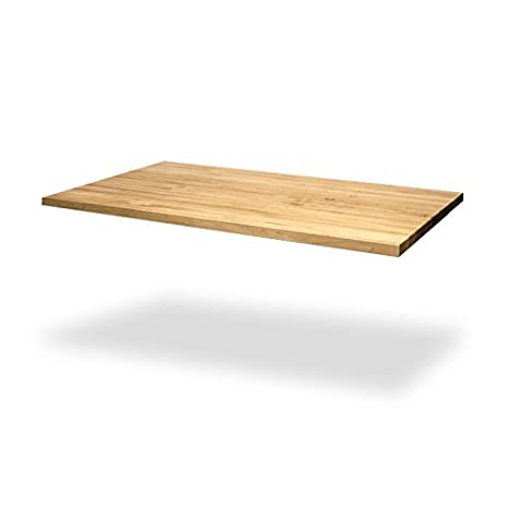 12 x 25 x 1-1//2 Wood Welded Maple Butcher Block Countertop