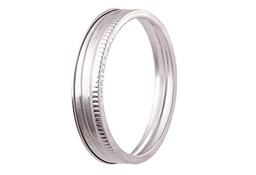 Ecojarz sb stainless steel jar bands 304 stainless for Stainless steel jewelry durability