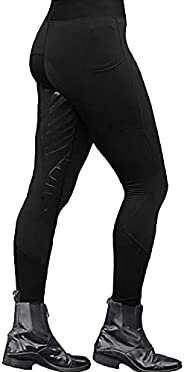KKUY Women's Riding Pants Exercise High Waist Sports Yoga Riding Equestrian Bree