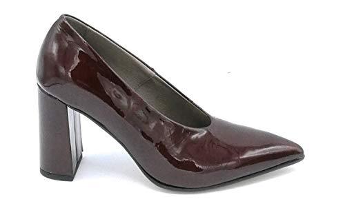 D4183 Nero Ferri Vernice Taglia Colore Decollete 39 Bordeaux Paola Scarpa nq7B6Aw