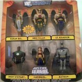 DC Universe Justice League Unlimited Exclusive Action Figure 6Pack Attack From Thanagar Paran Dul, Hro Talak, Lt. Kragger, John Stewart, Hawkgirl Batman