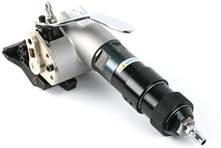 梱包機,ポータブル 省力 簡単操作 スプリットスチールストラッピングマシン空気圧鉄ベルトテンショナーセパレートロックマシン 業務用 (Size : A)