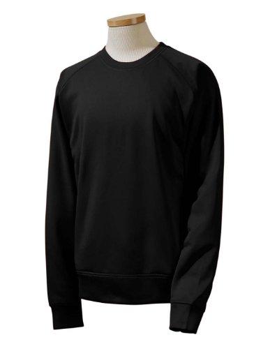 Russell Athletic 852EFM Tech Fleece Crew - Black - Large