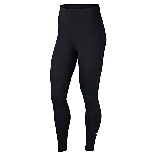 Nike Women's All-in Tight, Black/White, Small