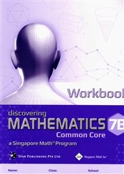 Discovering Mathematics: Common Core, Workbook 7B