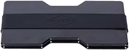 monlycin MoneYlip-HL1 Money Clip, Slim Wallet, Fashion Pocket Wallet for Cash, Credit Cards Holder, Black