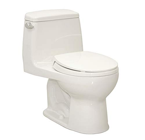 Cotton Flush Gallon 1.6 - TOTO Ultimate One Piece Tank Toilet, 1.6 Gallons per Flush, Cotton