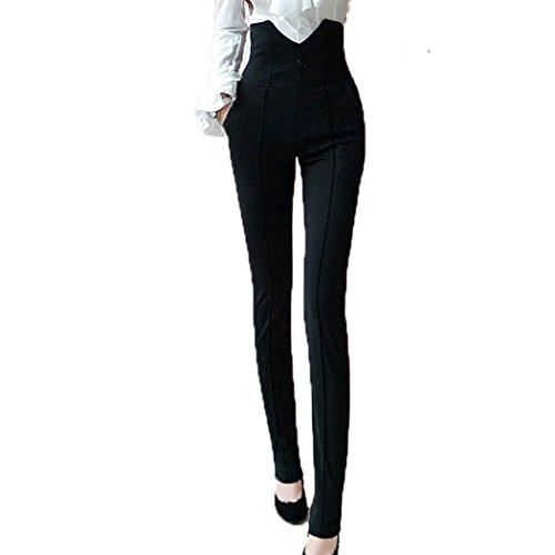 Slim milf booty in dress pants vpl
