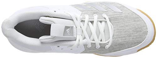 Delle Ligra Bianco ftwr Pallavolo Bianco Met Donne F17 grey Argento Adidas Scarpe Da Due 6 ErrqC