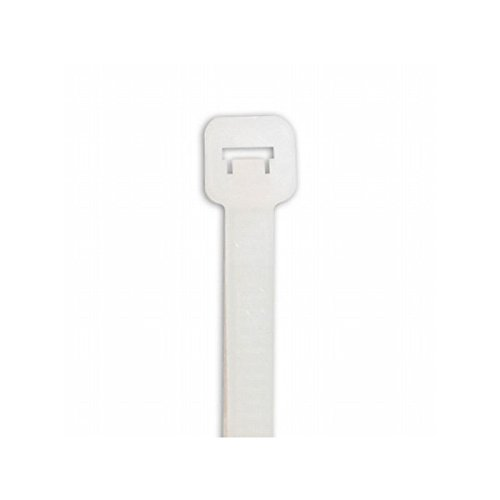 Box Packaging Cable Tie, Natural, 17'' x .19'', 50 lb - Case of 1,000