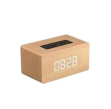 huiayng Altavoces Bluetooth Alarma Multifuncional ...