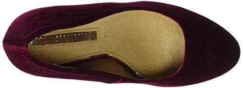 Maria Mare Damen CHANTY Geschlossene Schuhe mit Absatz Rot (Samt Bordeaux)