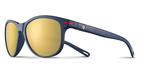 Julbo Adelaide Sunglasses, Matte Blue Frame, Brown Polarized ()