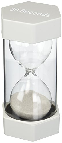 Teacher Created Resources 30 Second Sand Timer, Large -