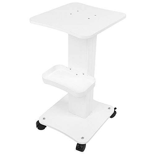 Beauty Trolley Professional ABS Salon Pedestal Rolling Cart Wheel Stand